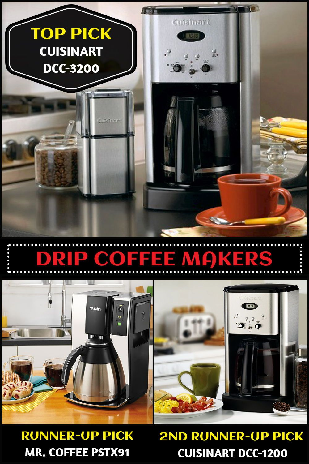 Top 10 Drip Coffee Makers (Feb. 2020) - Reviews & Buyers ...