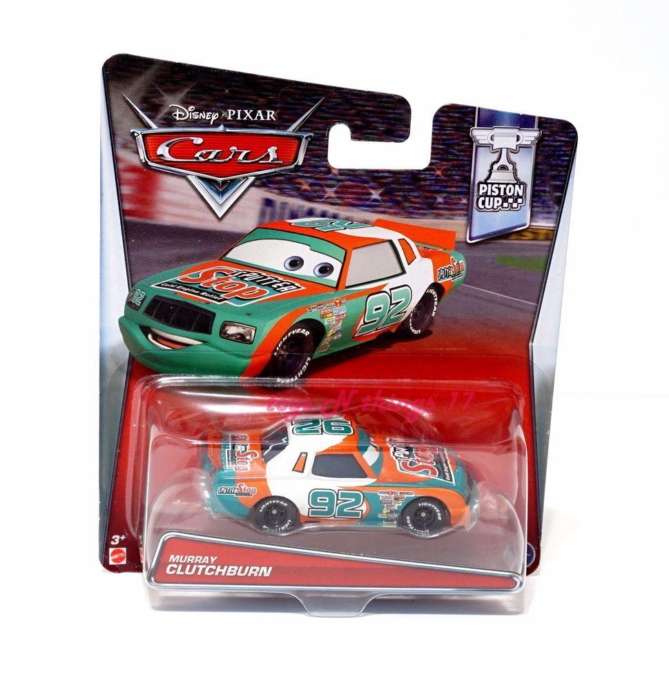 DIsney Cars Murray Clutchburn Piston Cup Series Diecast