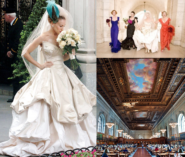 The Clic New York Landmark That Housed All Great Love Stories Carrie Bradshaw Have You Dreamed Of Having Your Wedding In A Magical Setting Such