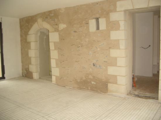 MurInterieurRavaleALaChauxEtSable  Salon    Murs