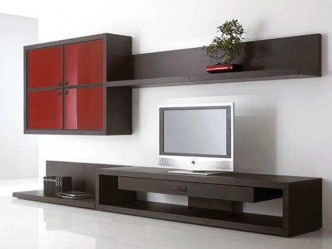 muebles de television tu saln decralo pinterest televisin