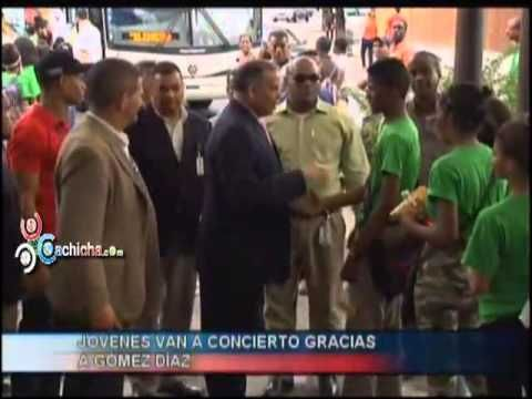 Jovenes van a concierto gracias a Gomez Diaz #Video - Cachicha.com