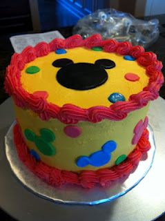 It S Sweet Mickey Mouse Smash Cake