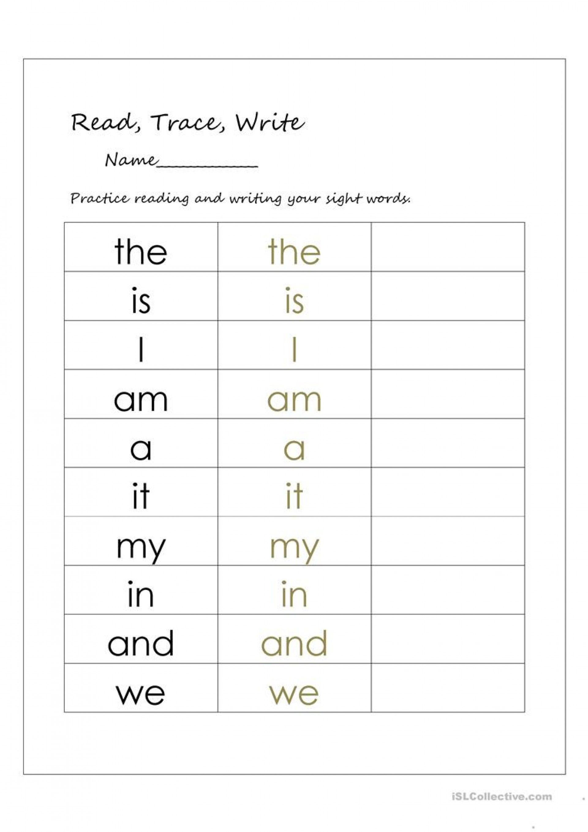 Grade 1 Writing Worksheets