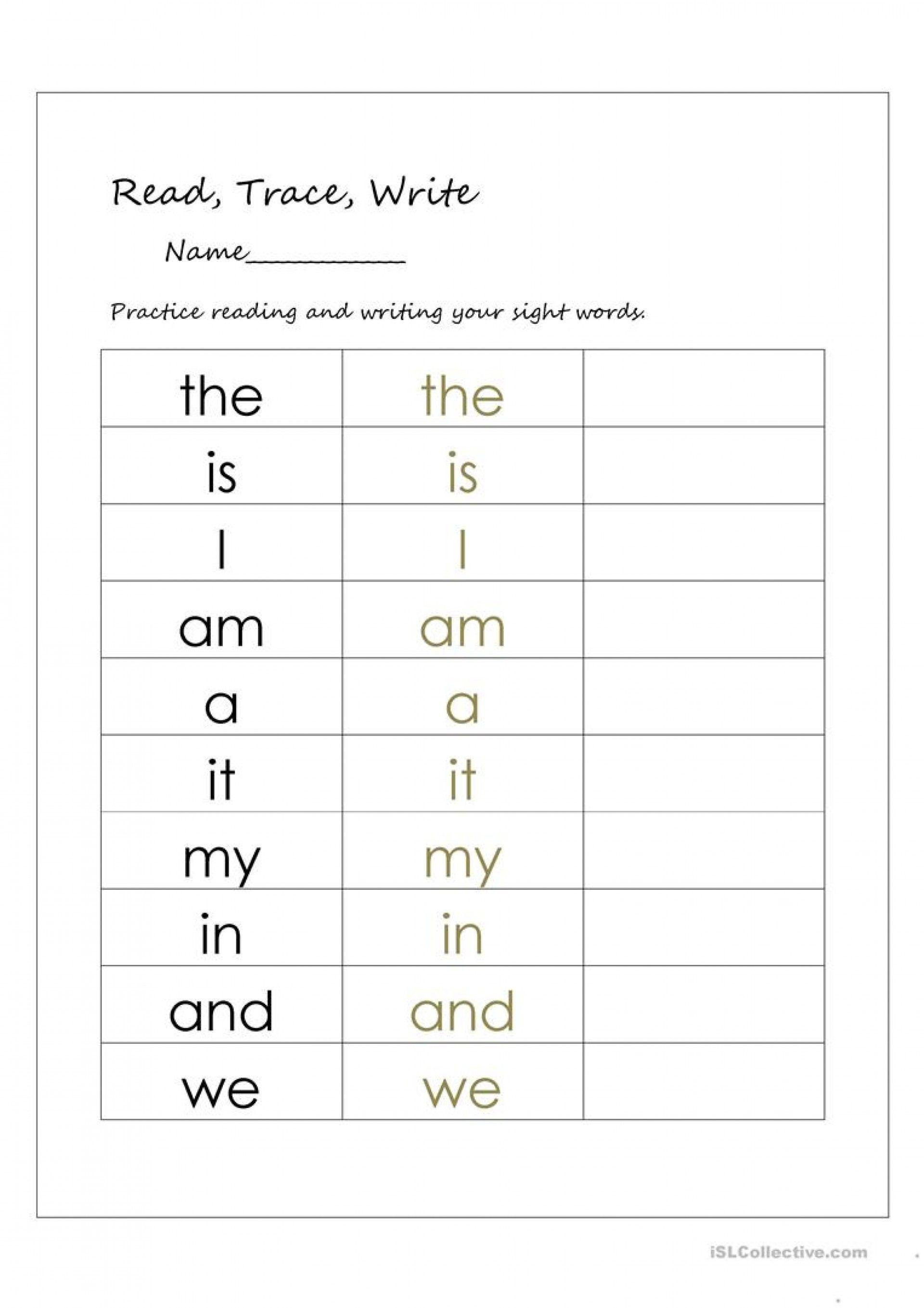 Grade 1 Writing Worksheets