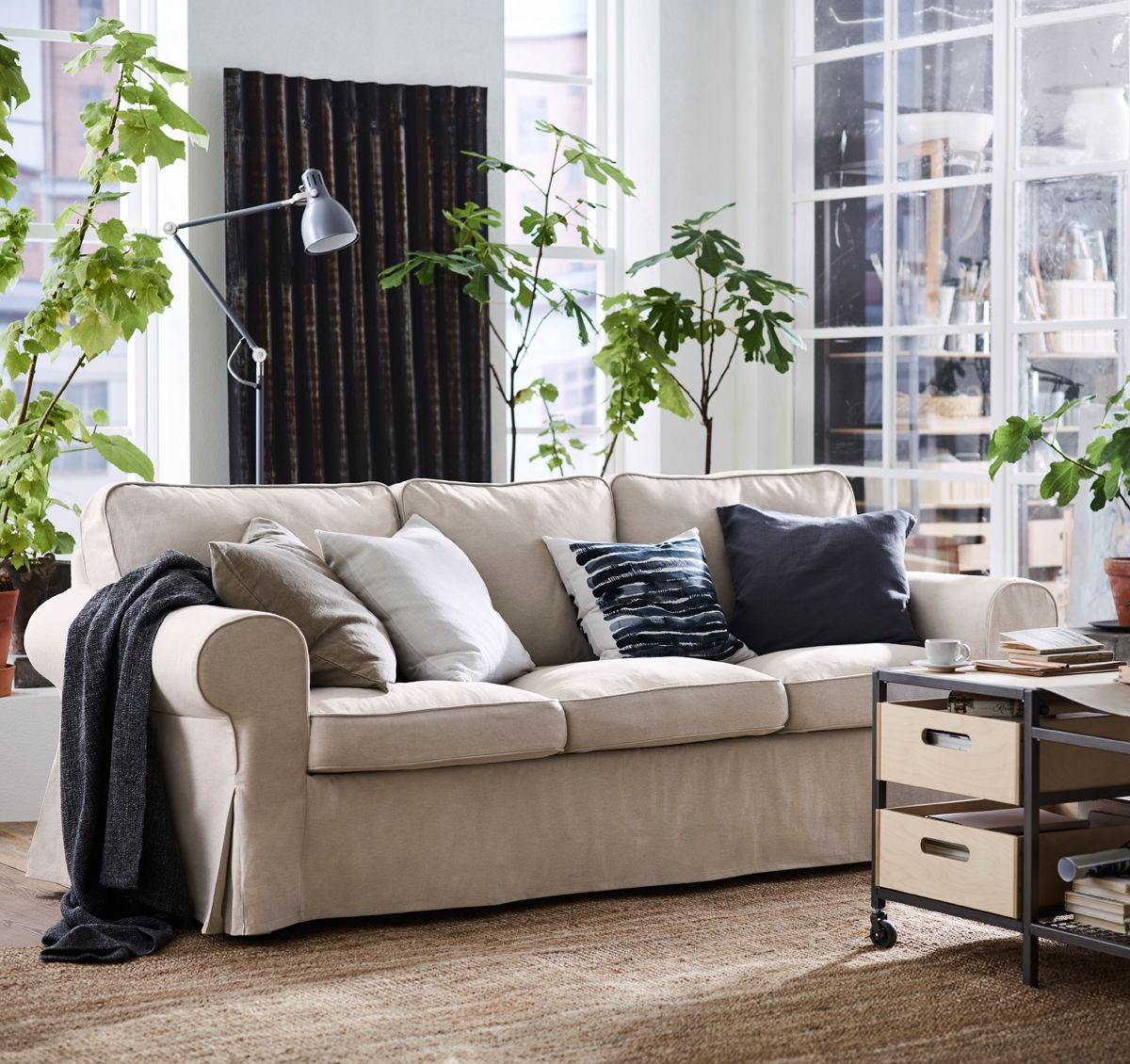 ektorp sofas in 2018 gef llt mir gut pinterest salons apartments and living rooms. Black Bedroom Furniture Sets. Home Design Ideas