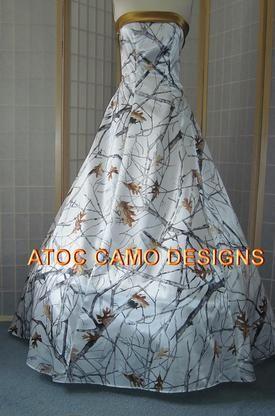 Snow Camo Wedding Dresses - Wedding Dresses With ...