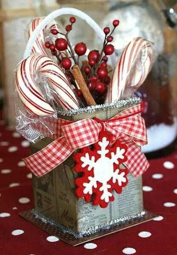 What a cute christmas gift idea You can easily make it by yourself