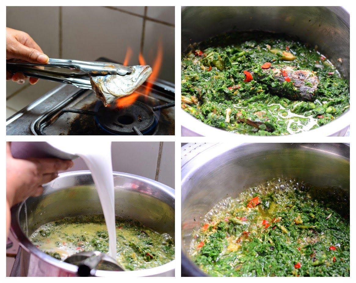 Saya Sudah Pernah Mem Post Resep Daun Ubi Tumbuk Yang Merupakan Masakan Khas Sumatera Utara Sebelumnya Hampir Masakan Resep Masakan Indonesia Resep Masakan