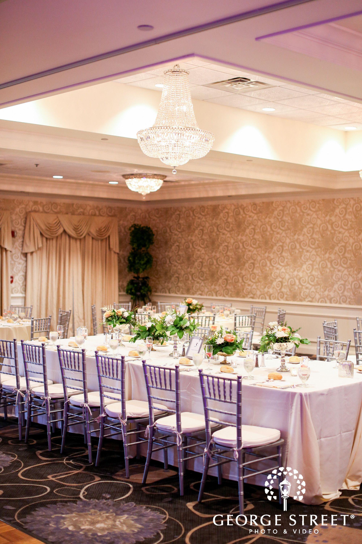 Golf View Ballroom Springfield Country Club Wedding Reception