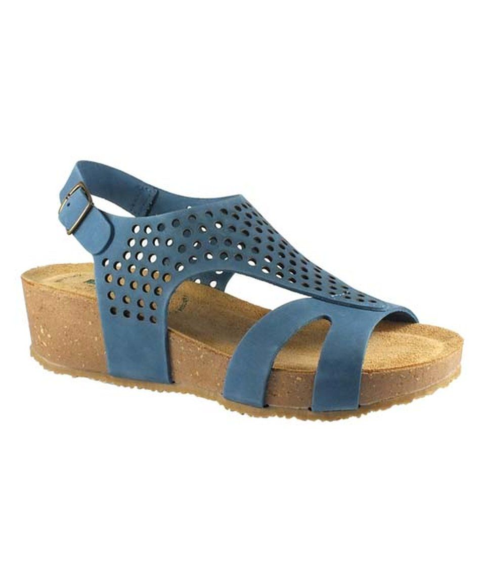97ea6c5e1a9 Take a look at this BioNatura Jean Blue Ambra Leather Sandal today ...