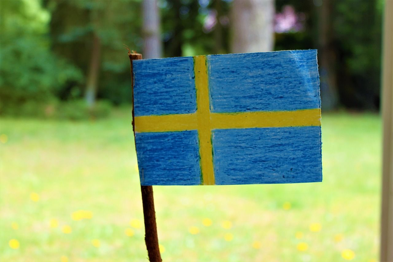Vacation Swedish Flag Sweden S Flag Vacation Swedishflag Sweden Sflag Facts About Sweden About Sweden Fun Facts