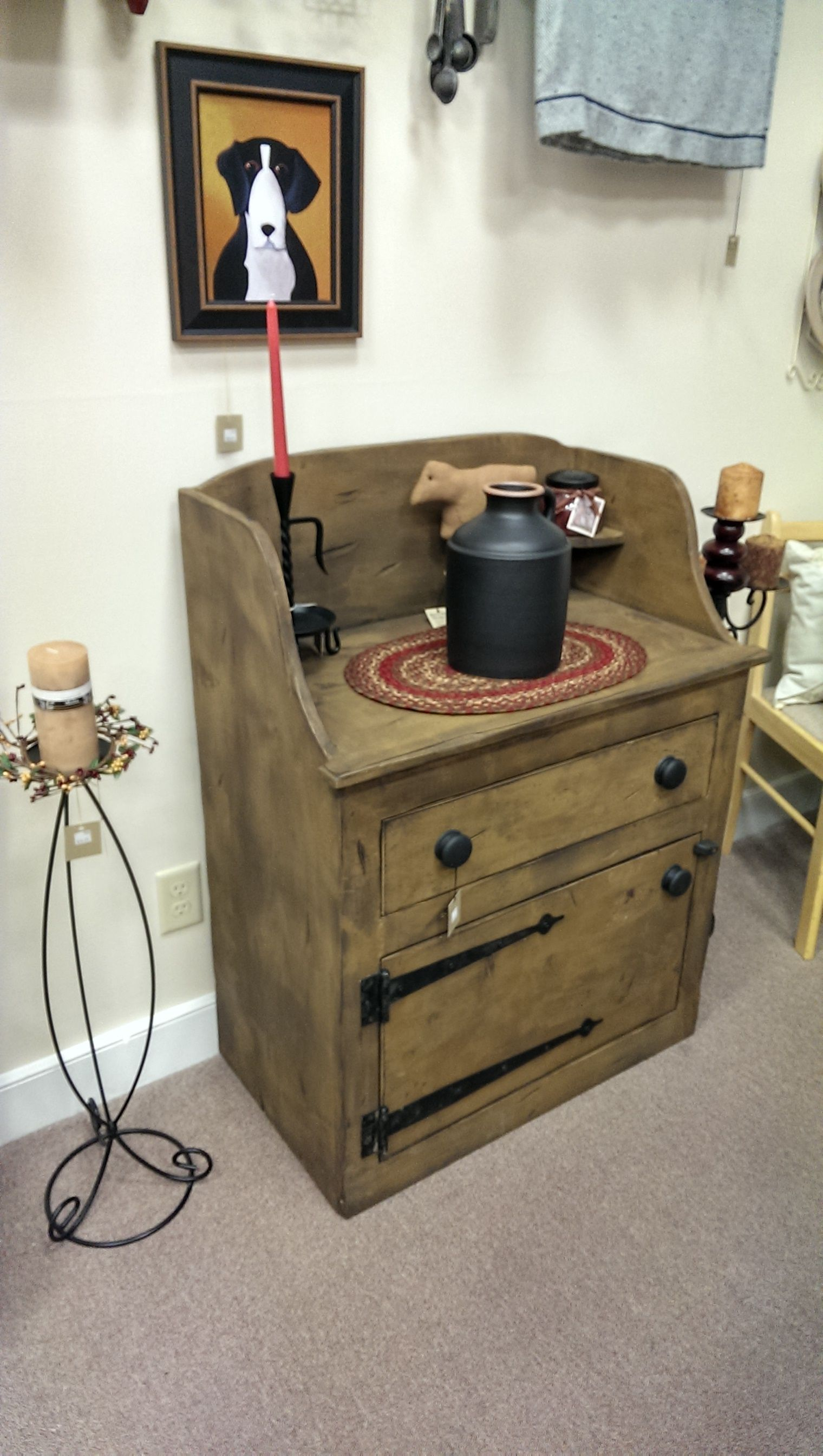 Crock cabinet