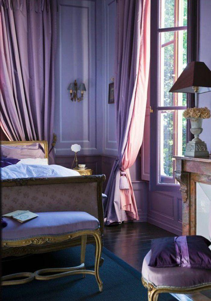 En Violet La Chambre à Coucher Royal