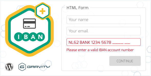 Gravity Forms Iban Validation Stylelib In 2020 Form Gravity How To Apply