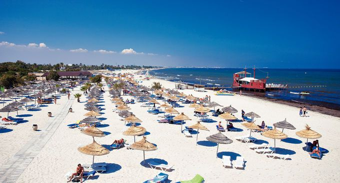 Sahara Beach Resort In Skanes Tunisia