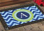 only certain letters are still available. $26.99 door mat outdoor/indoor. The rubber form is $30.99