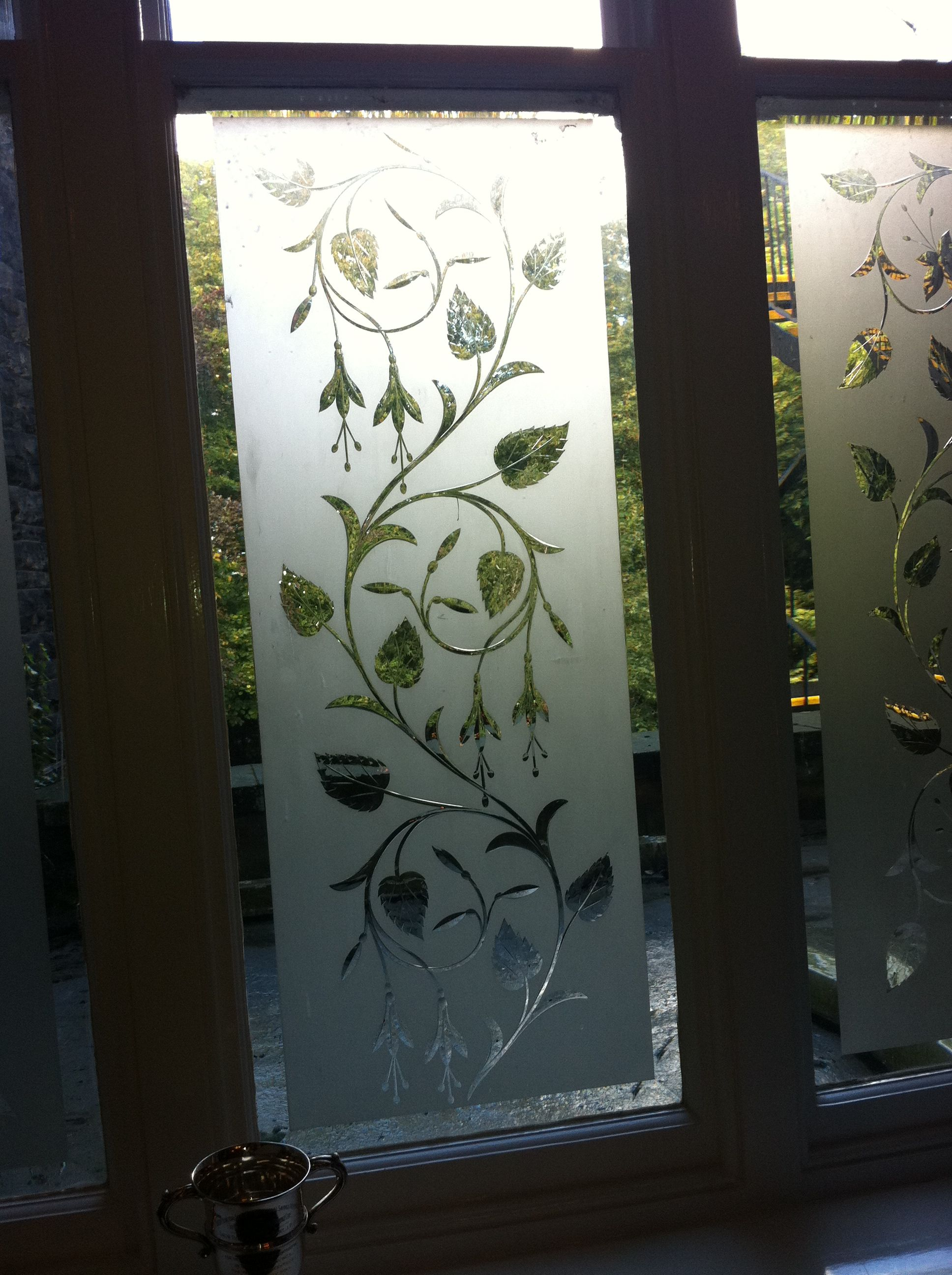 Glass Etched Designs Glas Design Decals Window Glass