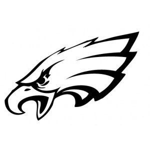 philadelphia eagles decal svg s silhouettes coloring pages rh pinterest com philadelphia eagles vector logo download