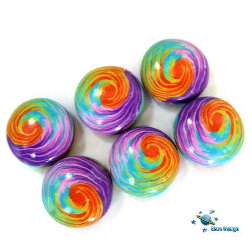 Rainbow swirl beads   Flickr - Photo Sharing!