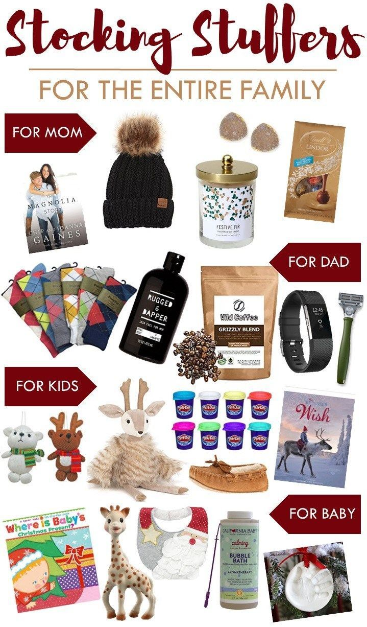 Stocking Stuffers For The Entire Family Sugar Maple Notes Christmas Mom Christmas Stocking Stuffers Christmas Gifts For Mom