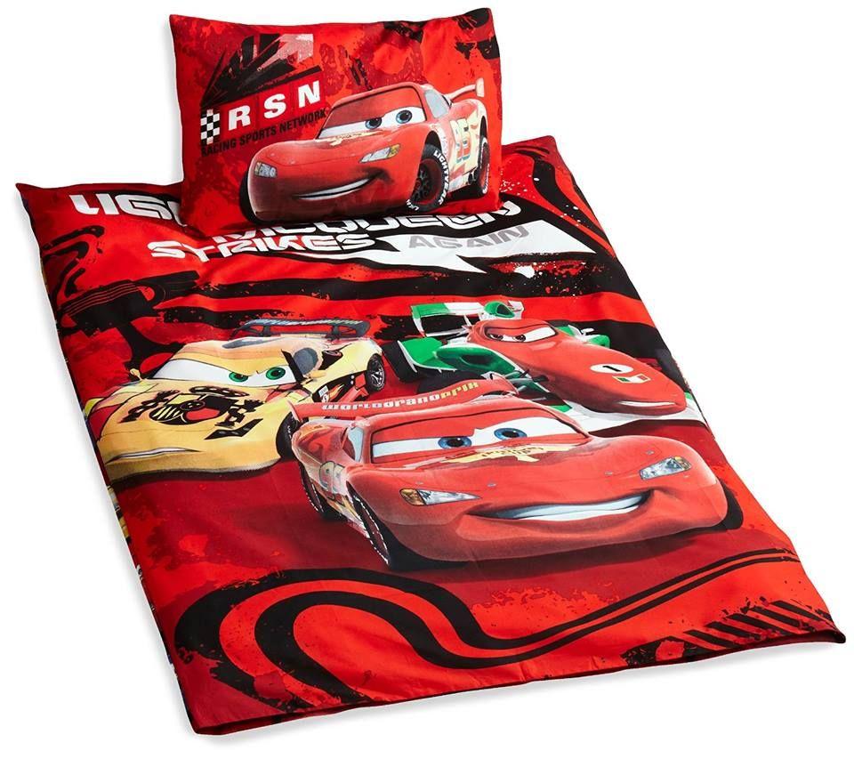 Autozimmer Disney Cars Bettwäsche passend für das