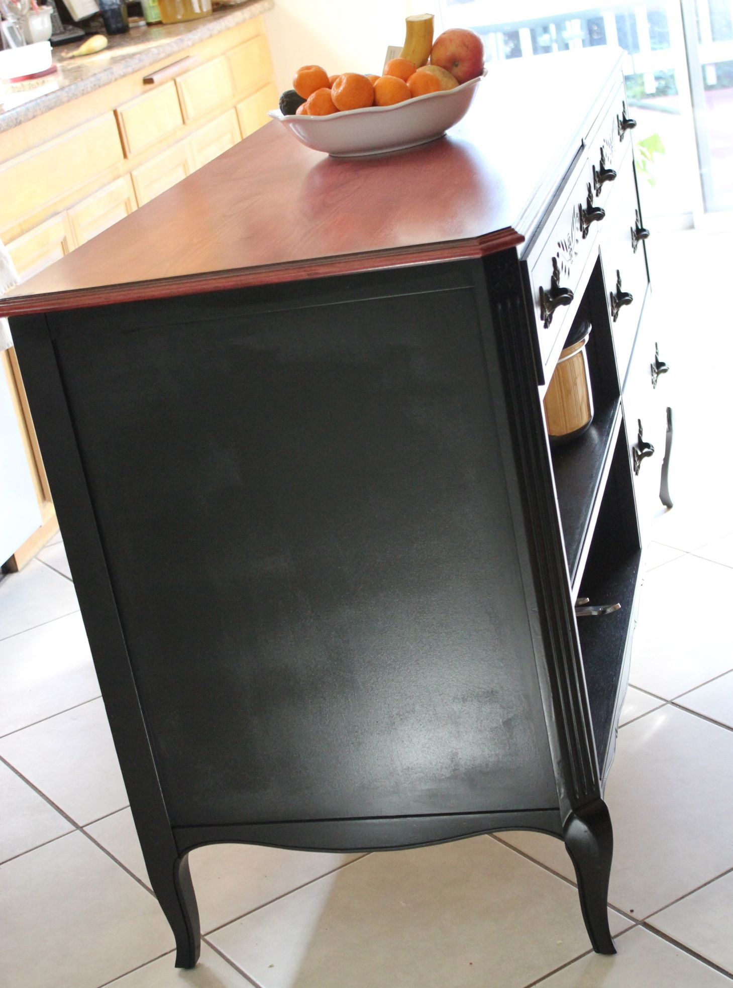Upcycle Dresser Into Kitchen Island... Maybe I Can Find A Bunch Of Dressers  · Diy ...