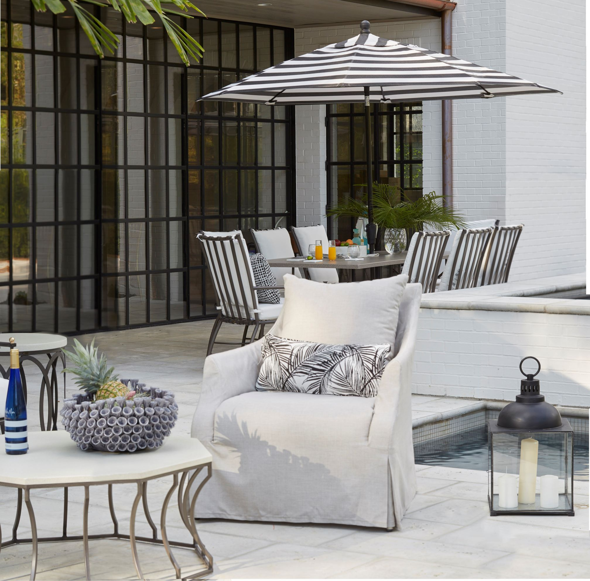 Design Your Space With A 10 000 Backyard Makeover With Images Patio Chairs Classic Home Decor Summer Classics