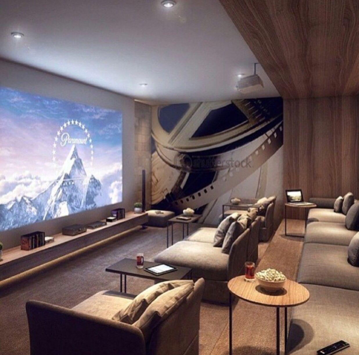 Home Theater Design Ideas Diy: Big Dreams & Luxury Taste