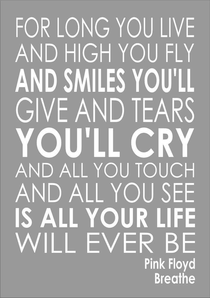 Lyric lyrics to all i need is a touch from you : Darkside Of The Moon Song Lyrics - Breathe - Pink Floyd Lyrics ...