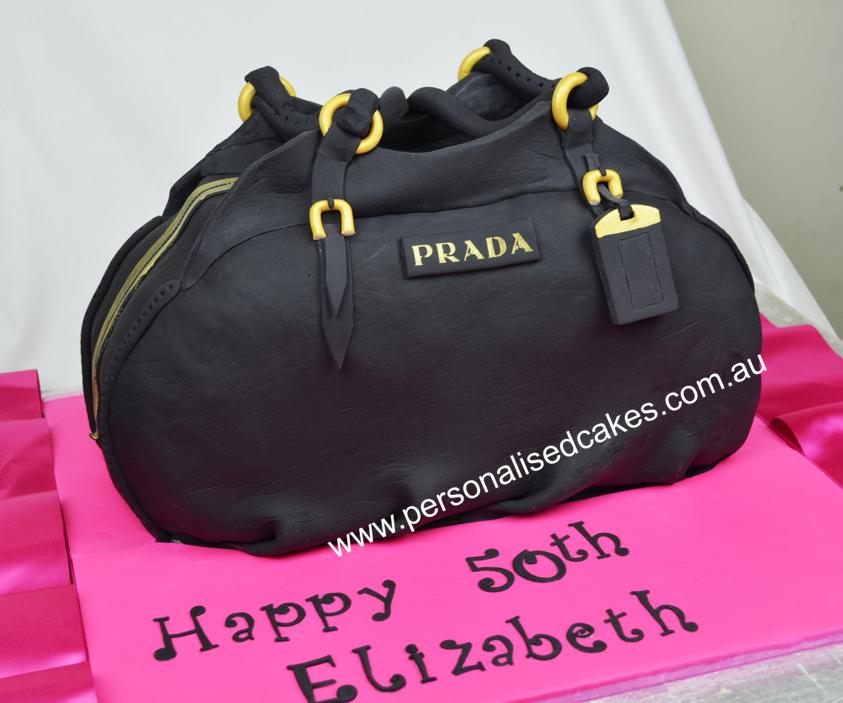 Handbag Design Birthday Cake : prada Purse Cake ... Prada-handbag-cake-sydney-birthday ...