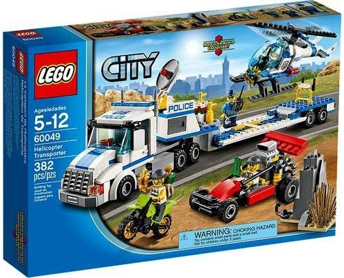 Lego City Set 60049 Helicopter Transporter 673419207553 Lego City Helicopter Lego City Sets Lego City