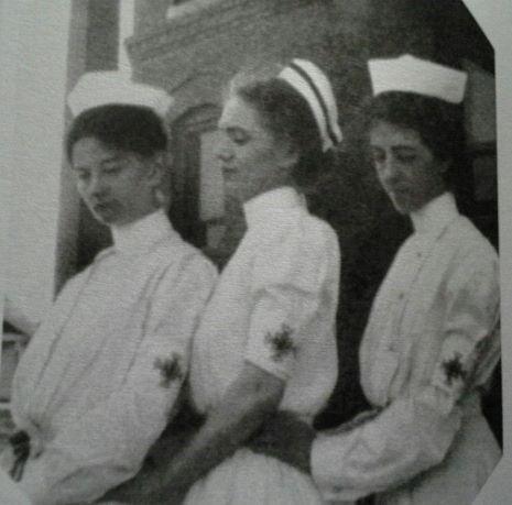 1915 Nurses All Saints Hospital Fort Worth Texas