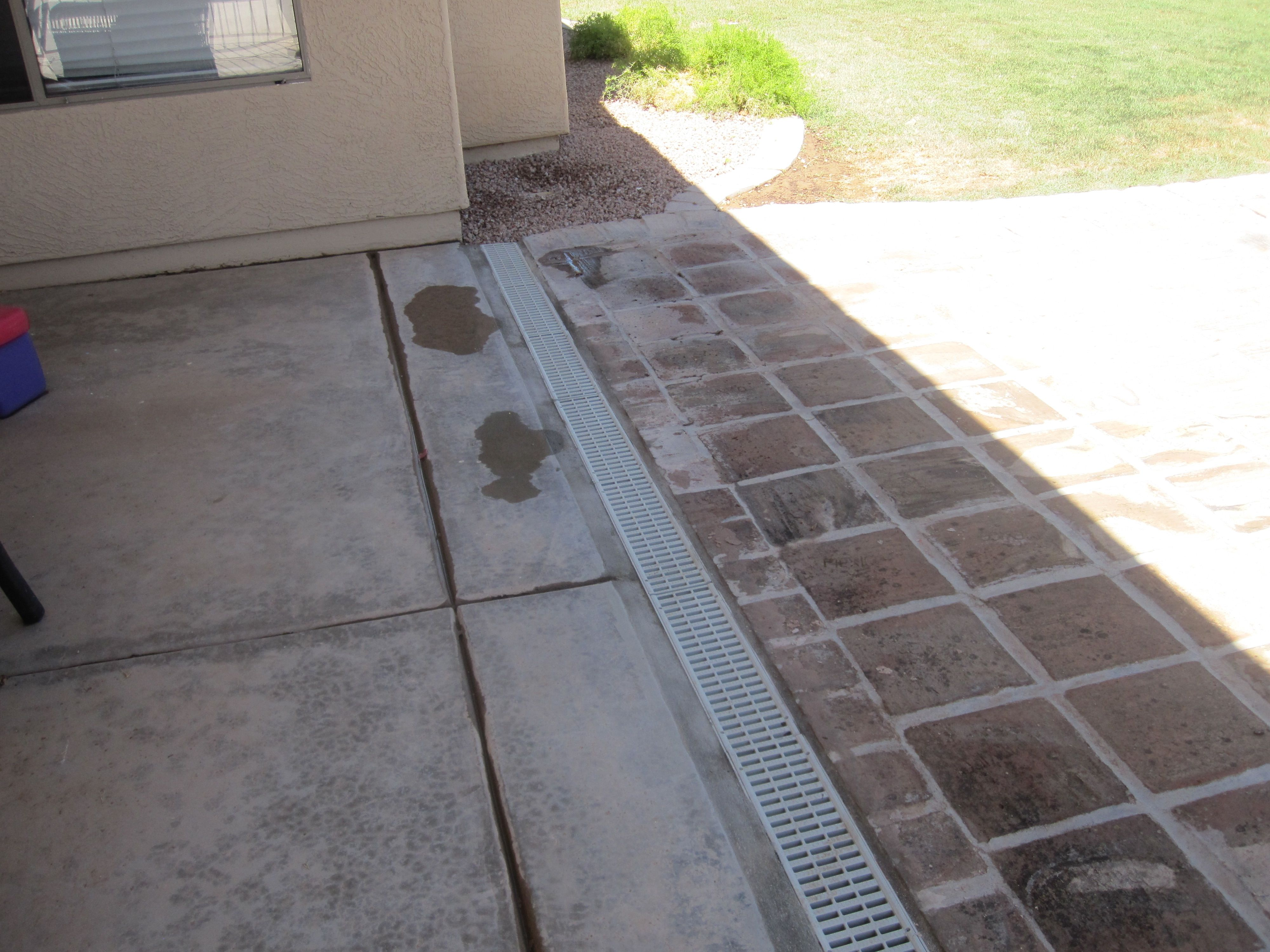 Image result for driveway channel drain patio paver for Driveway trench drain