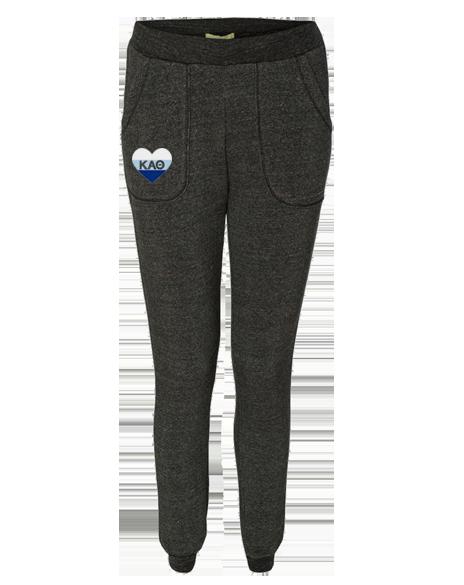 Kappa Alpha Theta Heart Sprinter Sweatpants Adam Block Design