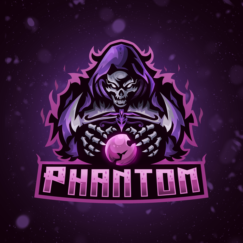 Phantom Ghost Esports Logo Done On Fiverr Please Click Image For Link Logo Design Art Art Logo Pet Logo Design