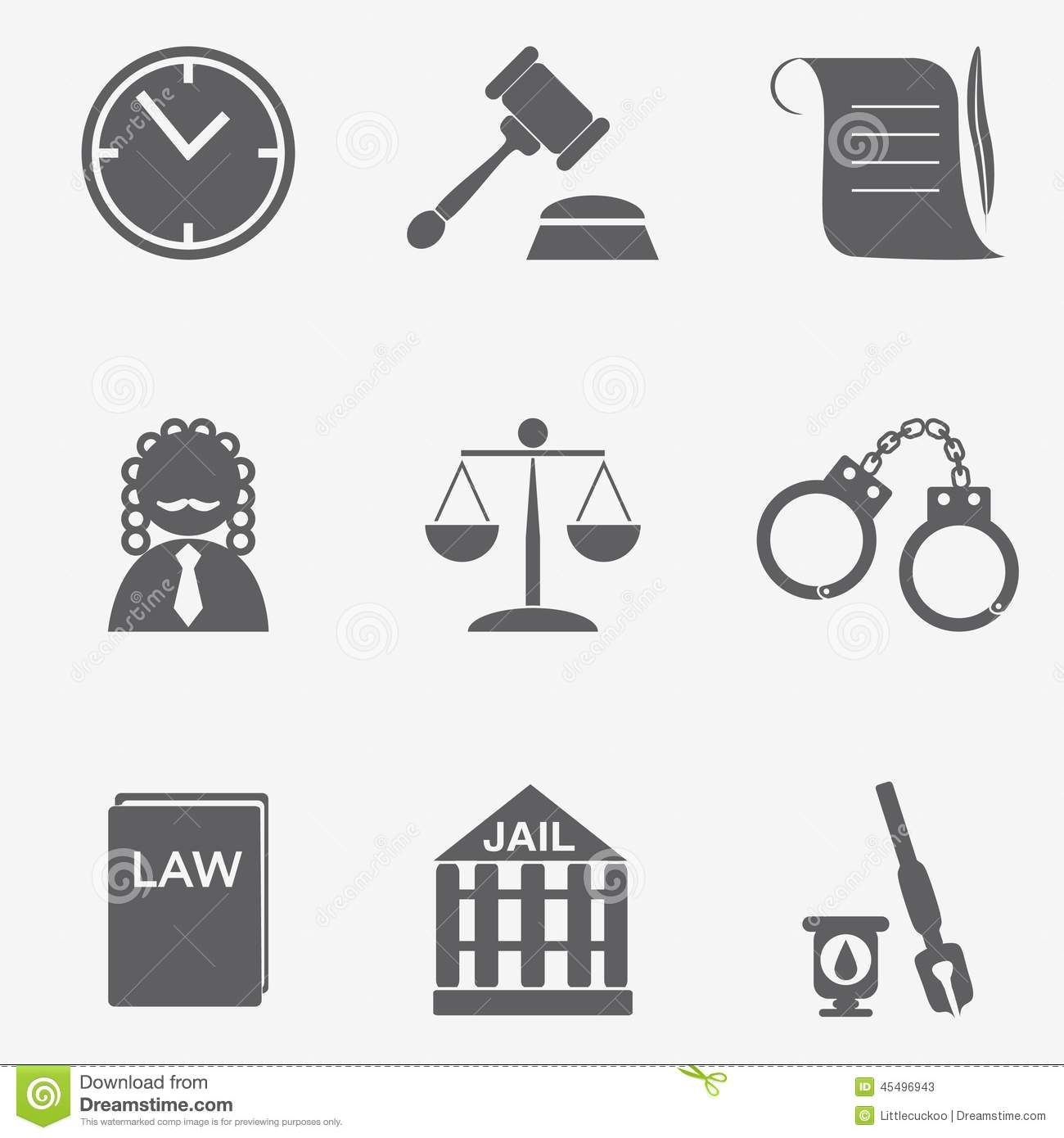 Judge Law Justice Symbol Stock Photos Images Pictures 4707