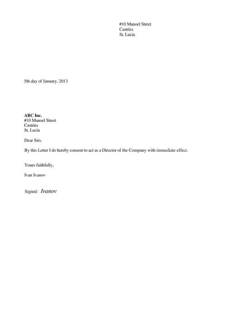 first resolution letter sample act behalf best authorization - letters of authorization