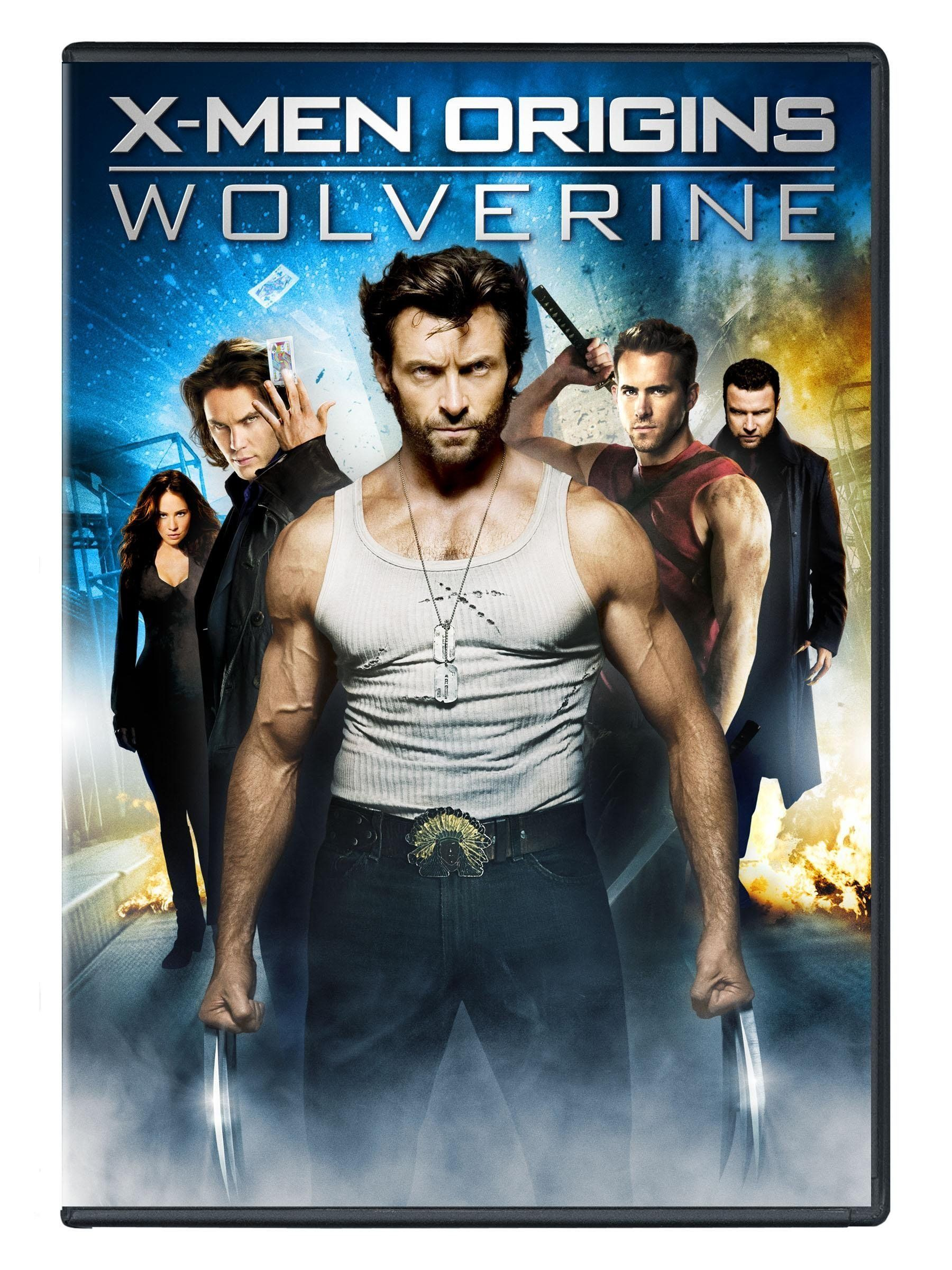 G492 X Men Origins Wolverine Single Disc Edition Dvd Wolverine Movie Wolverine 2009 X Men