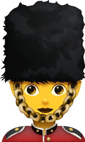 Woman Guard Emoji | Iphone Emoji, Apple Emoji, Emoji Faces | Emoji