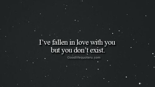I fell in love with you but you didn't exist -- people who are fake, empty and hollow  are simply emotional vampires walking the earth.   goodlifequoteru.com – #Life, #Love, Black and White #Quotes / #Quote and more for #Girl and #Boy