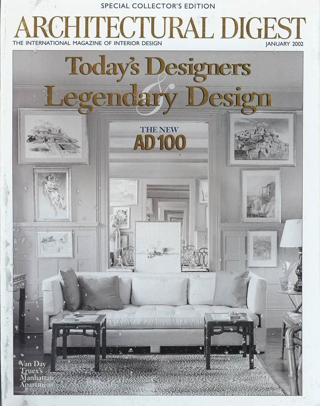 Architectural Digest Featuring Rob Brown And Todd Davis Of Brown