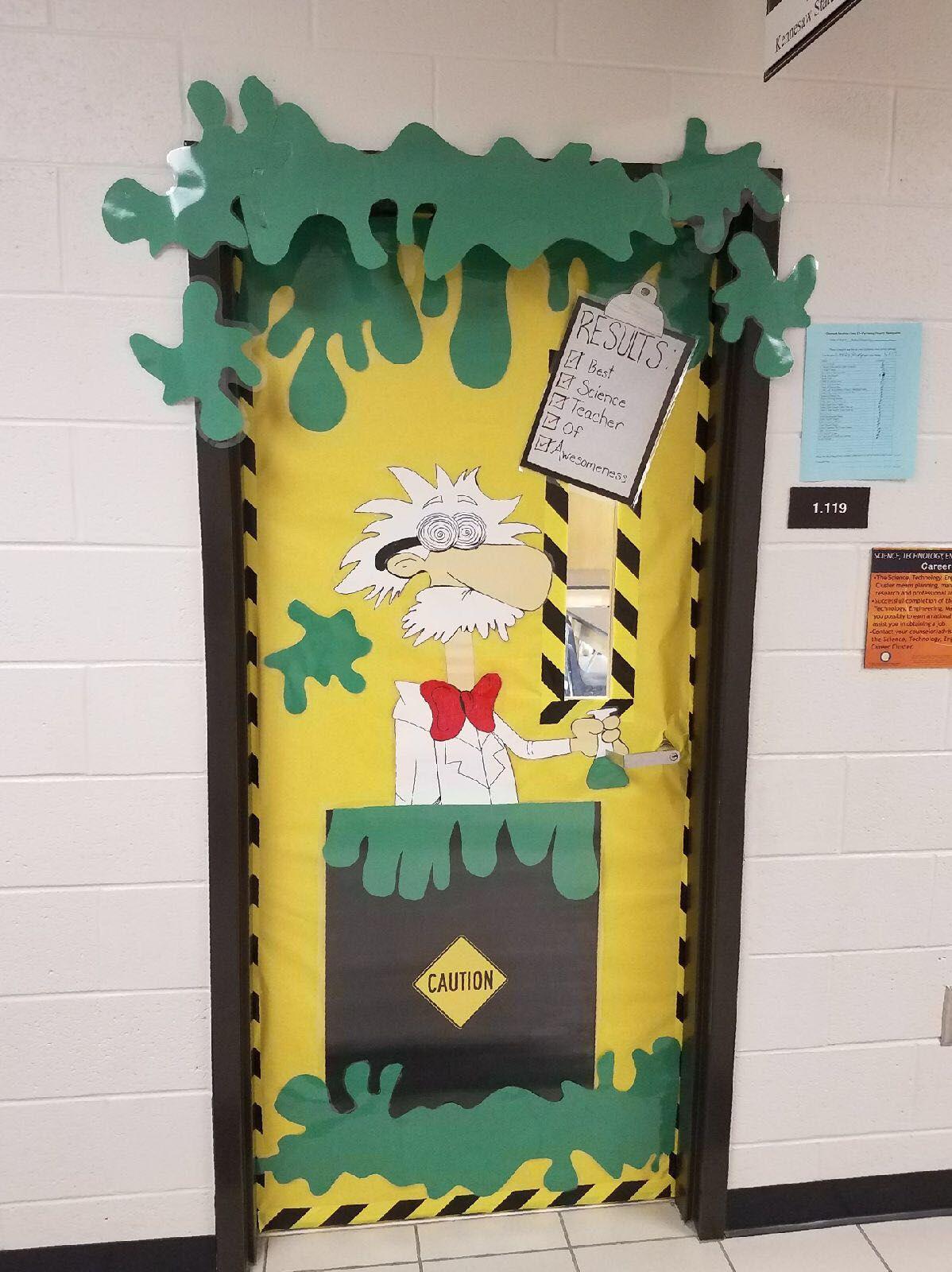 School Door Decoration For Science Classroom