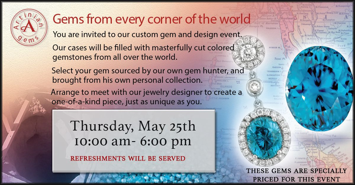 Come one come all! Today is the day! Gemstone colors