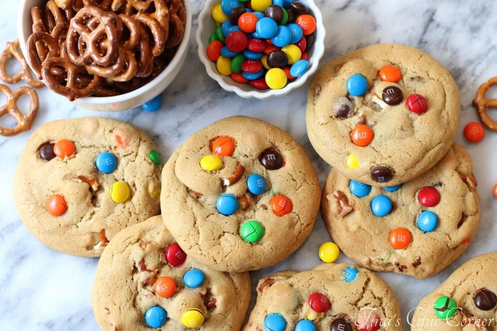 Sweet and Salty Cookies Easy christmas cookie recipes