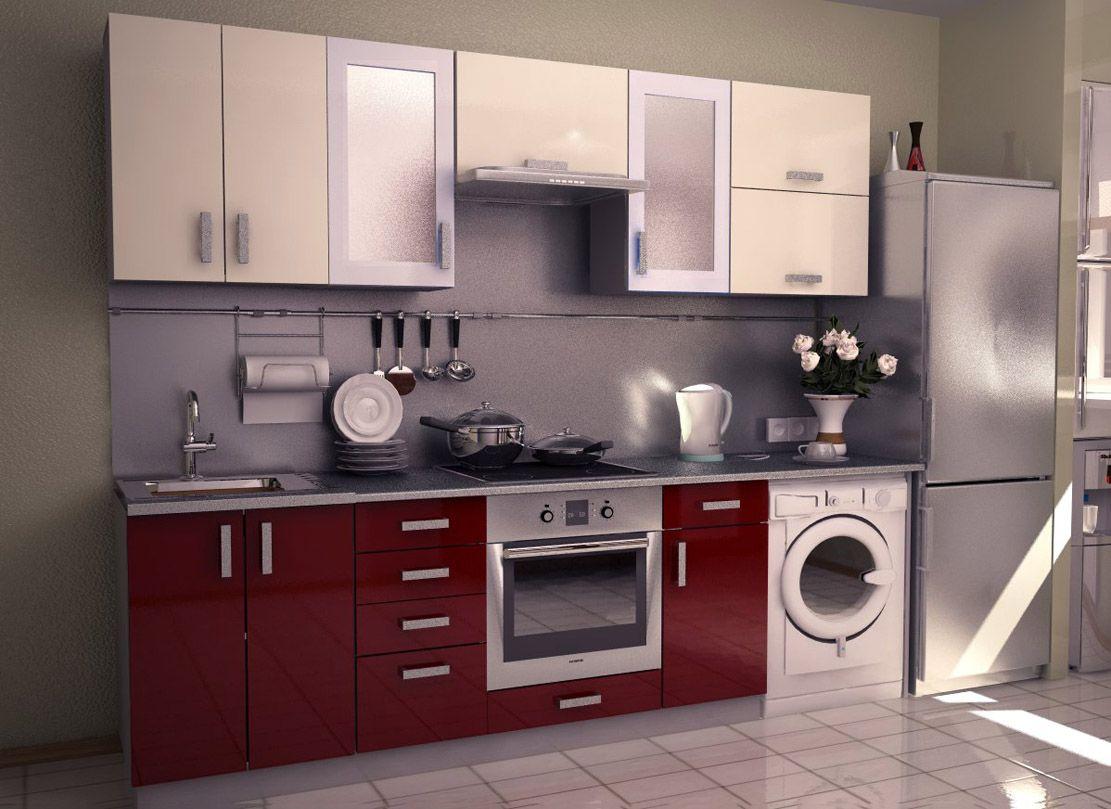 contemporary modular kitchen design beautiful wash basin wooden wardrobe and tile flooring on c kitchen design id=83713
