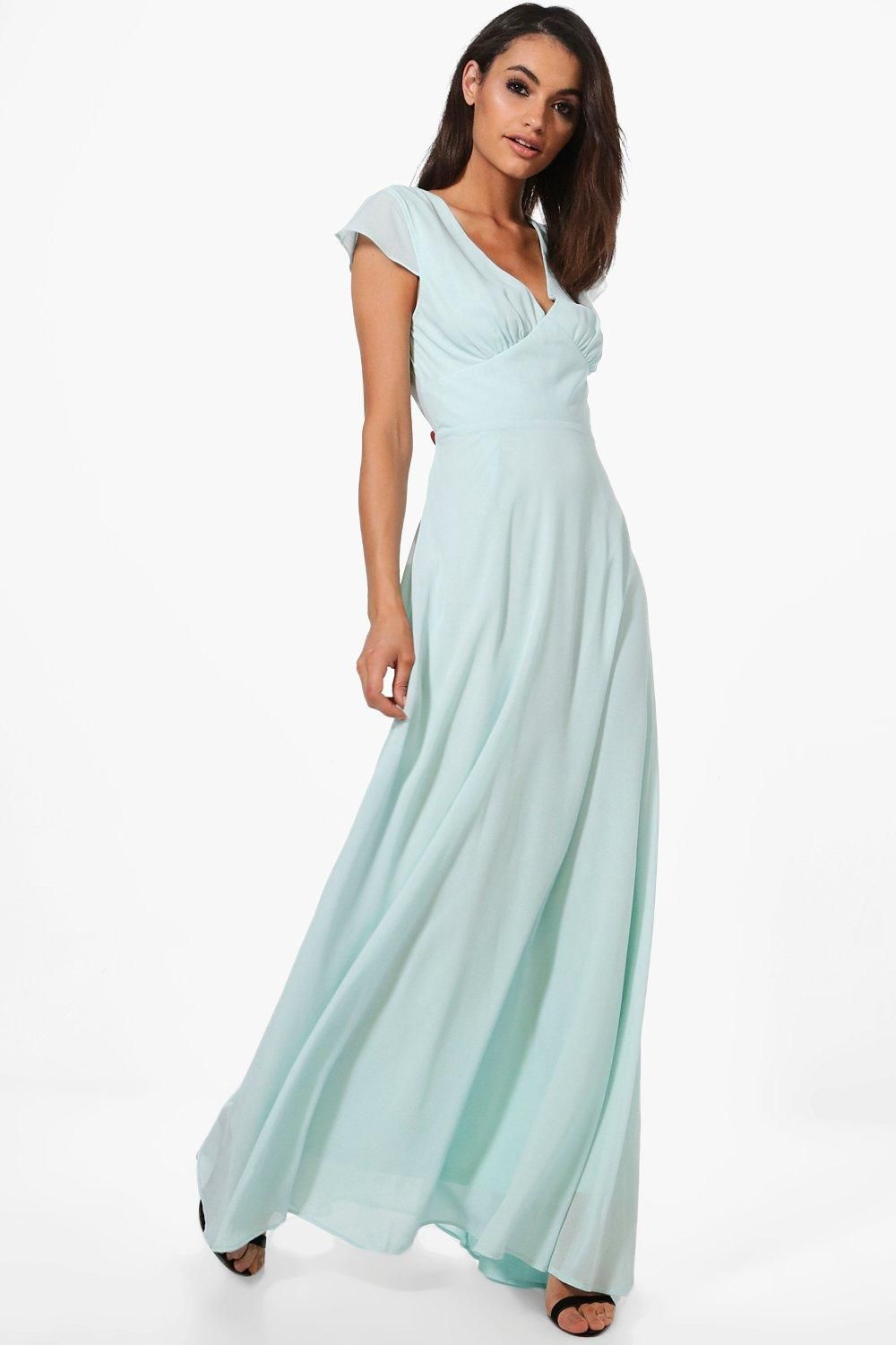 7eda2782b5a1 Click here to find out about the Boutique Ri Chiffon Cap Sleeve Maxi Dress  from Boohoo, part of our latest Dresses collection ready to shop online  today!