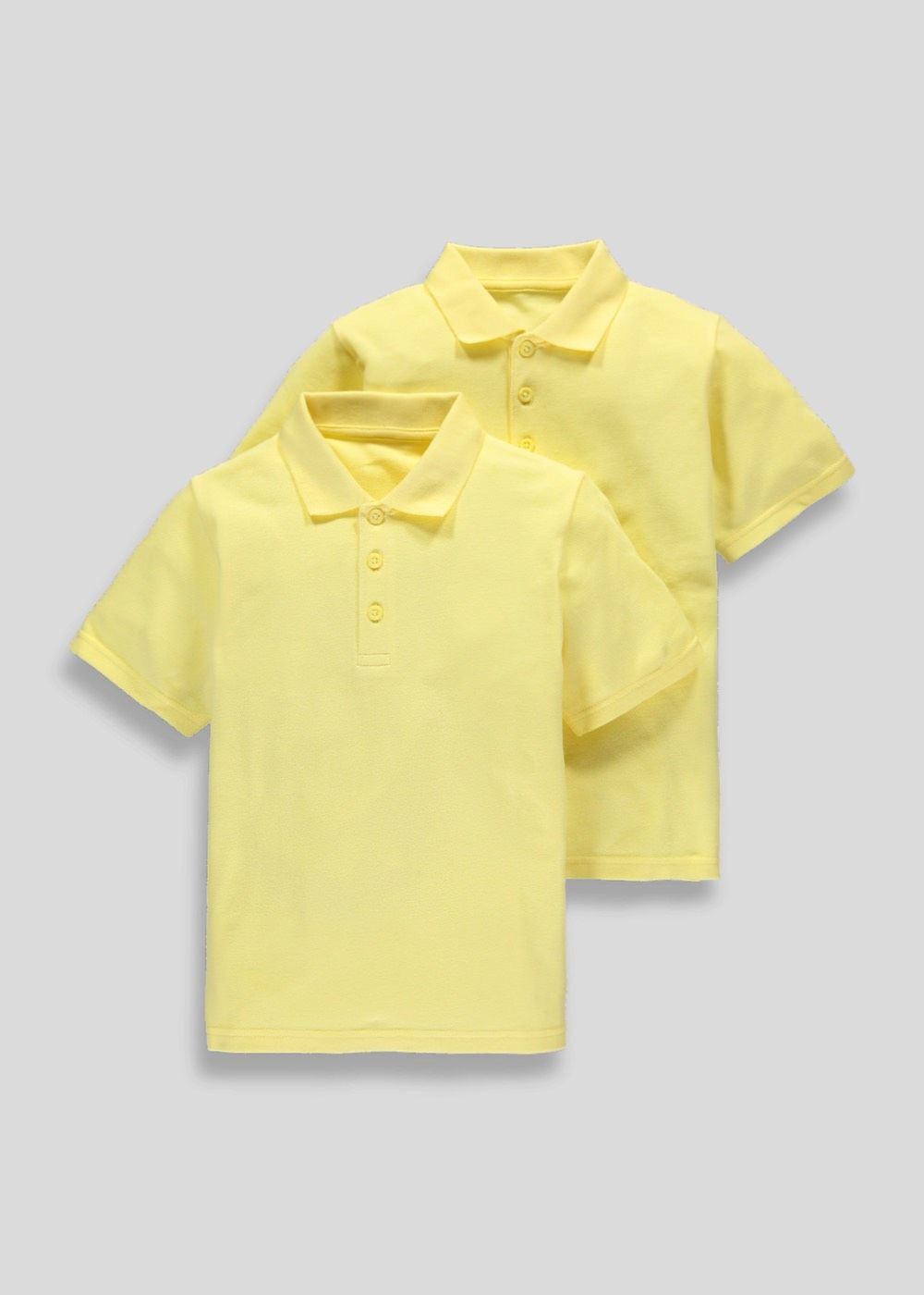 5f89d037b Unisex 2 Pack School Polo Shirts (3-16yrs) | Back to School | Pinterest |  School, School uniform and School polo shirts