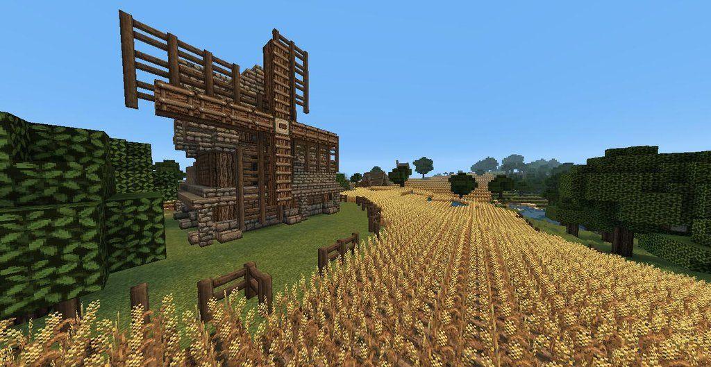 Medieval Wheat Farm Custom Map Download Skryim Inspired