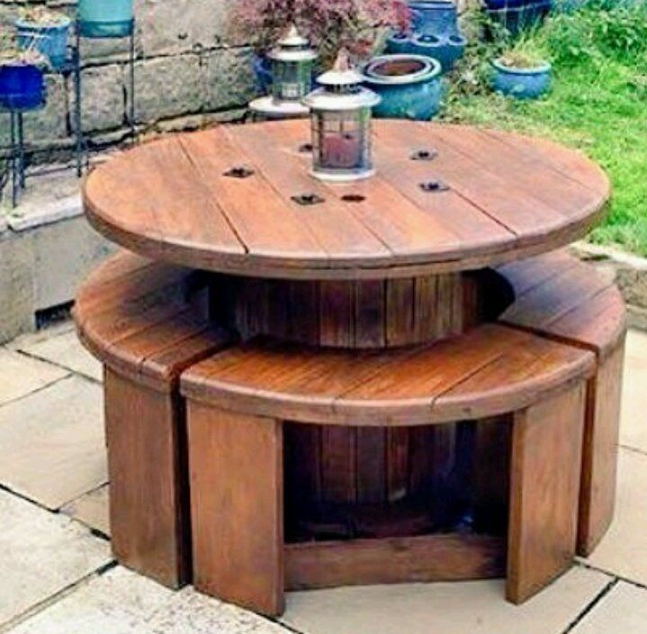 13 Ideas of DIY Reclaimed Wood Projects for Outdoor #woodprojects